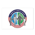 American Families United Postcards (Package of 8)