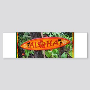 Hawaiian Bumper Sticker