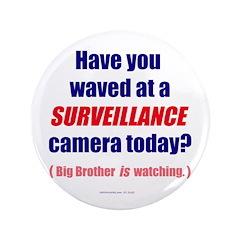 "Surveillance Camera 3.5"" Button (100 pack)"