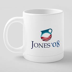 jones_mug 20 oz Ceramic Mega Mug