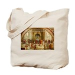 Raphael School of Athens Tote Bag
