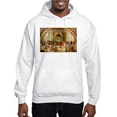 Raphael School of Athens Hoodie