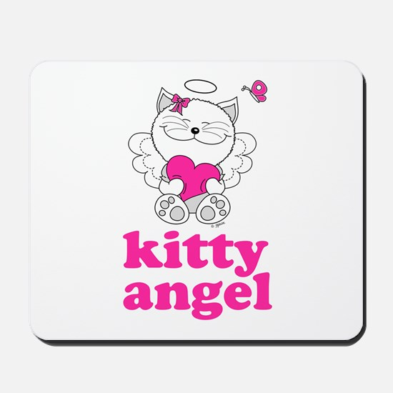 Kitty Cat Angel Mousepad