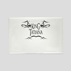 King Tatiana Rectangle Magnet