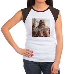 Music and Plato Women's Cap Sleeve T-Shirt