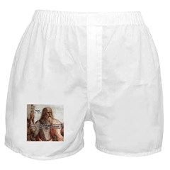 Music and Plato Boxer Shorts