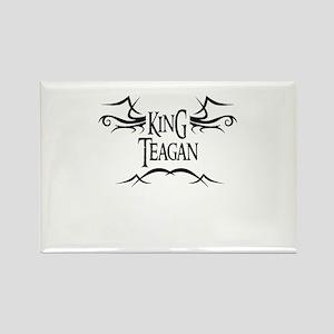 King Teagan Rectangle Magnet