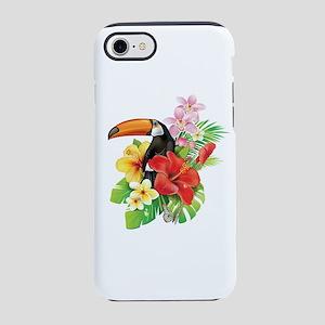 Tropical Toucan Collage iPhone 7 Tough Case