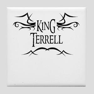 King Terrell Tile Coaster