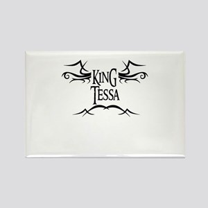 King Tessa Rectangle Magnet