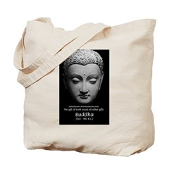 Buddhist Religion: Gift of Truth Tote Bag