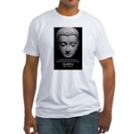 Buddhist Religion: Gift of Truth Fitted T-Shirt