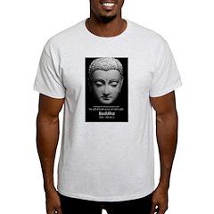 Buddhist Religion: Gift of Truth Ash Grey T-Shirt