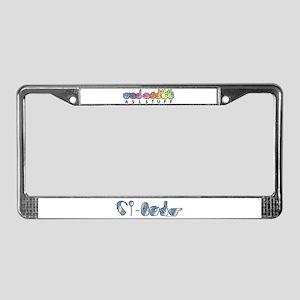 CI-Borg License Plate Frame