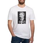 Nietzsche: Live Dangerously Fitted T-Shirt