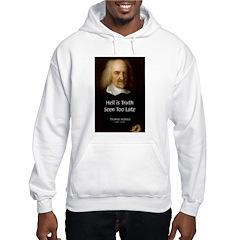Thomas Hobbes Truth Hoodie