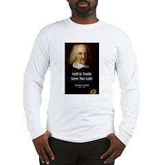 Thomas Hobbes Truth Long Sleeve T-Shirt