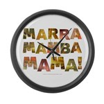 Marra Mamba Mama Large Wall Clock