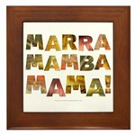 Marra Mamba Mama Framed Tile