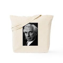 Bertrand Russell Tote Bag
