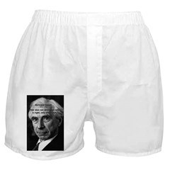Bertrand Russell Women's & Men's Boxers