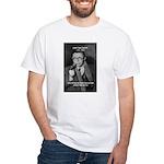 Existentialist Jean-Paul Sartre White T-Shirt