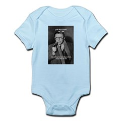 Existentialist Jean-Paul Sartre Infant Creeper