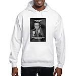Existentialist Jean-Paul Sartre Hooded Sweatshirt