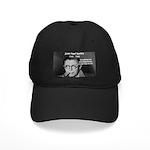 Existentialist Jean-Paul Sartre Black Cap