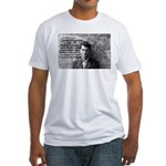 Ludwig Wittgenstein Fitted T-Shirt