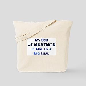 My Son Johnathon Tote Bag