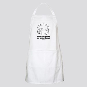 Build her a cake or something ~  BBQ Apron