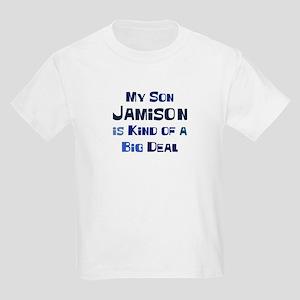 My Son Jamison Kids Light T-Shirt