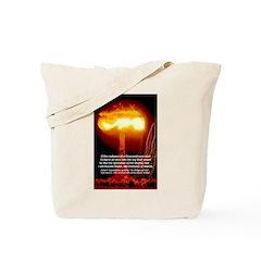 Atomic Bomb: Oppenheimer Tote Bag