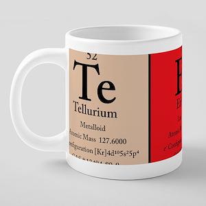 Te Er Y Color Polo 20 oz Ceramic Mega Mug