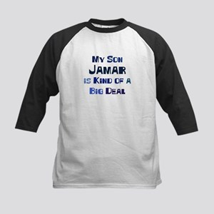My Son Jamar Kids Baseball Jersey