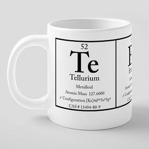Te Er Y TP Polo 20 oz Ceramic Mega Mug