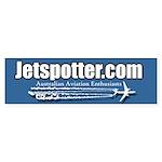 Jetspotter Bumper Sticker