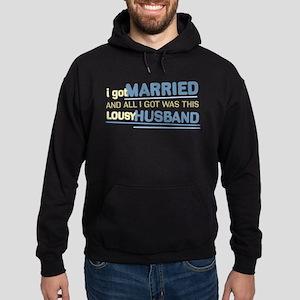 Lousy Husband Hoodie (dark)