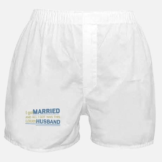 Lousy Husband Boxer Shorts