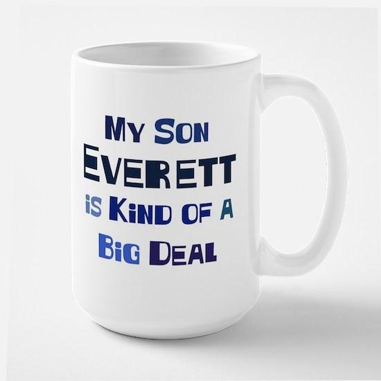 My Son Everett Large Mug