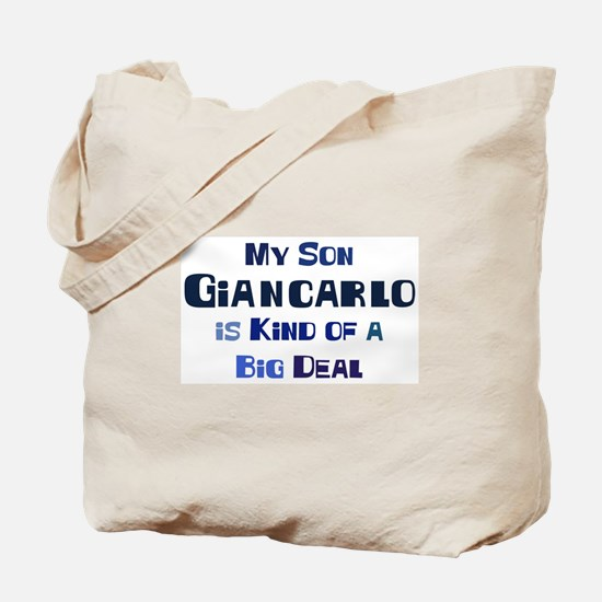 My Son Giancarlo Tote Bag