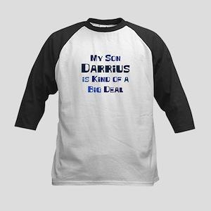 My Son Darrius Kids Baseball Jersey