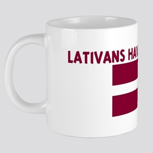 LATIVANS_HAVE_MORE_FUN 20 oz Ceramic Mega Mug