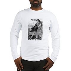 Mathematics: Blaise Pascal Long Sleeve T-Shirt