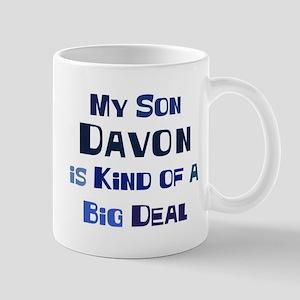 My Son Davon Mug