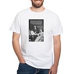 Leibniz Origins of Calculus White T-Shirt