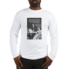 Leibniz Origins of Calculus Long Sleeve T-Shirt