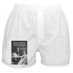 Leibniz Origins of Calculus Boxer Shorts