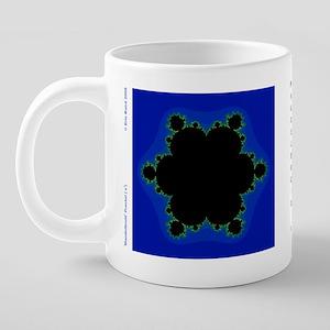 MandelbroidMug_z7 20 oz Ceramic Mega Mug
